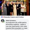 Aprecieri Anda Circovescu - 30 iunie 2018