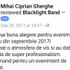 Aprecieri Mihai Ciprian Ghrghe